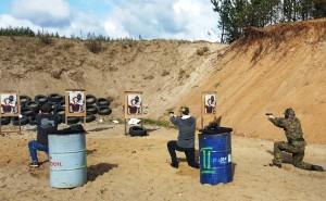 Szkolenie strzelckie-Pistolet poziom średnizawansowany.