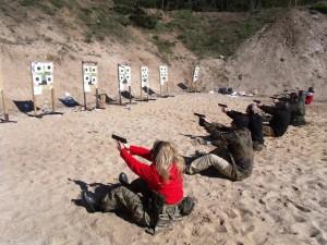 Szkolenie strzeleckie -Pistolet 09.03.2019 r.